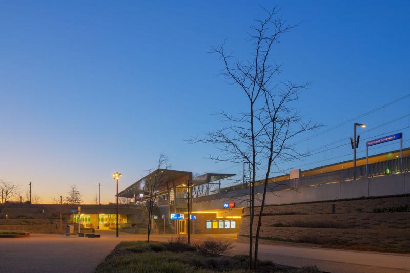 Groningen (NLD) - Station Europapark