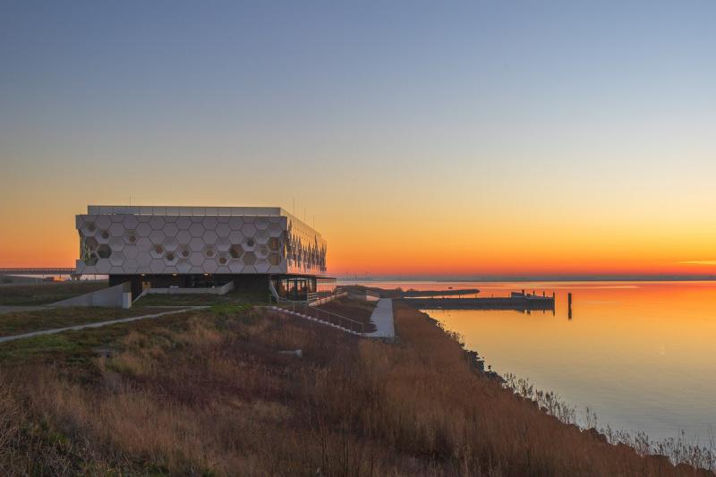 Kornwerderzand (NLD) - Afsluitdijk Wadden Center