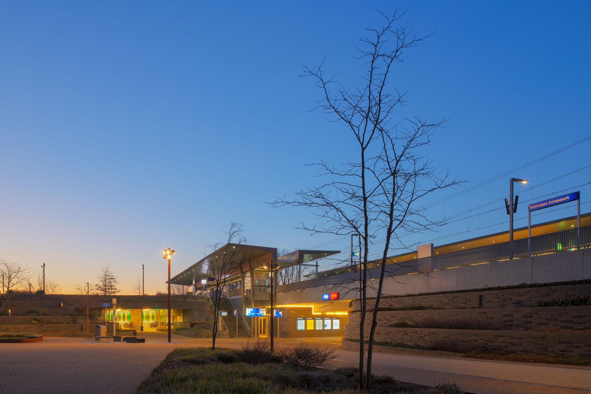 Station Europapark Groningen