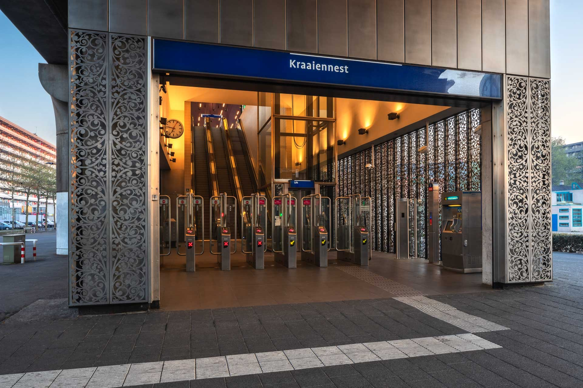 Metrostation Kraaiennest