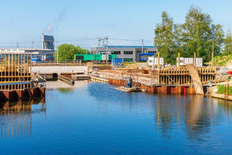 Amsterdam (NLD) - Spooremplacement Westhaven